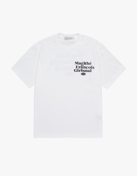 Marith+Franois Girbaud MARITHE DUO TEE white | HEIGHTS. | 하이츠 온라인 스토어