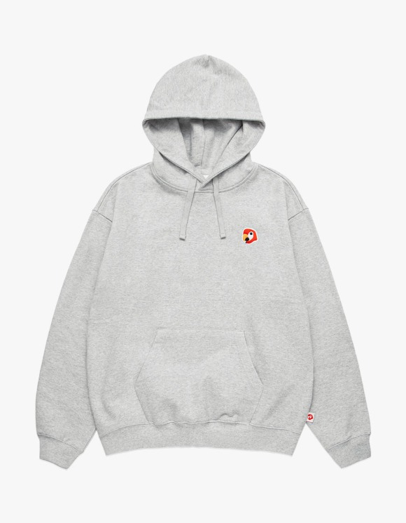 KANCO KANCO LOGO HOODIE heather gray | HEIGHTS. | 하이츠 온라인 스토어