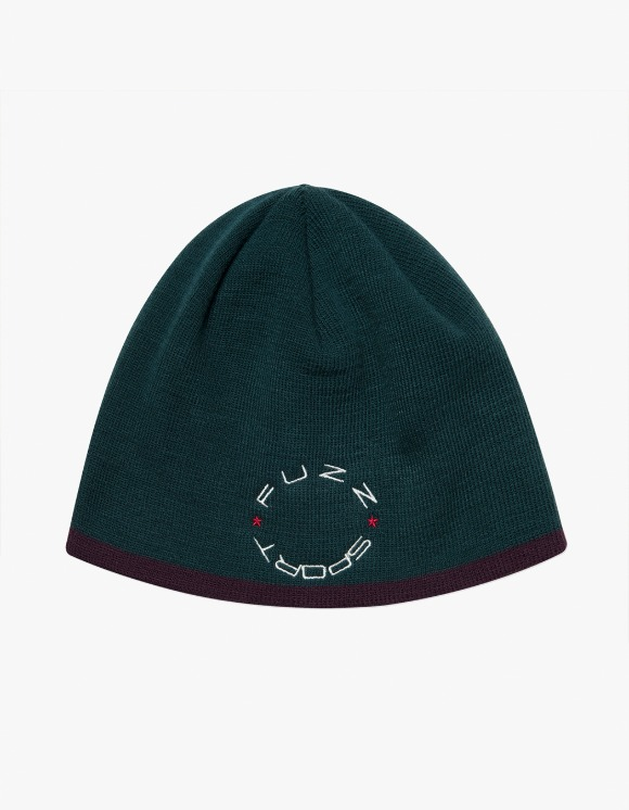 Fuzz FUZZ UNDER LINE SHORT BEANIE green | HEIGHTS. | 하이츠 온라인 스토어