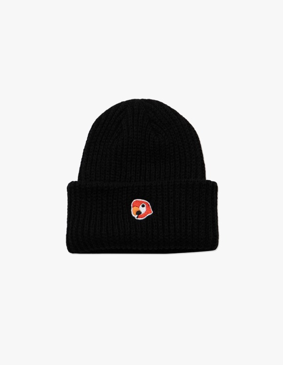 KANCO KANCO LOGO SHORT BEANIE black | HEIGHTS. | 하이츠 온라인 스토어