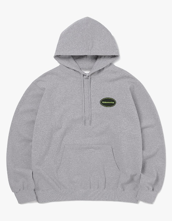 thisisneverthat E/T-Logo Hooded Sweatshirt - Heather Grey | HEIGHTS. | 하이츠 온라인 스토어