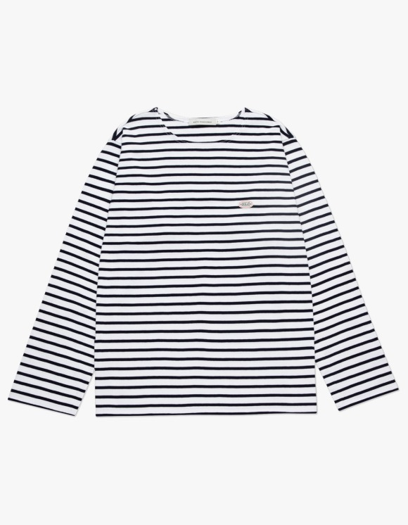 Marith+Franois Girbaud MARITHE BORDER L/S TEE navy | HEIGHTS. | 하이츠 온라인 스토어