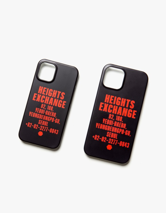 Heights. Exchange Exchange iPhone 12 Case - Black | HEIGHTS. | 하이츠 온라인 스토어