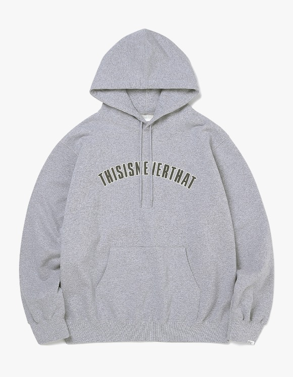 thisisneverthat NEW ARC Hooded Sweatshirt - Heather Grey | HEIGHTS. | 하이츠 온라인 스토어