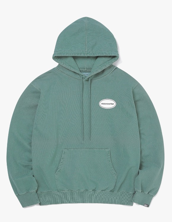 thisisneverthat E/T-Logo Hooded Sweatshirt - Dark Teal | HEIGHTS. | 하이츠 온라인 스토어