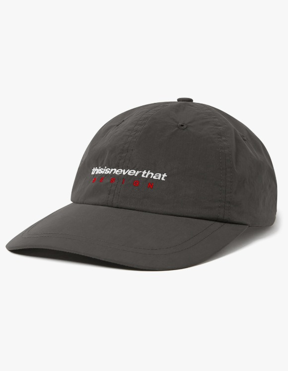 thisisneverthat DSN-Logo Cap - Charcoal | HEIGHTS. | 하이츠 온라인 스토어