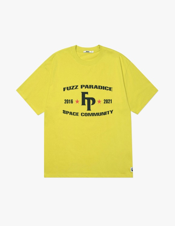 Fuzz FUZZ CHAMPION S/S TEE lemon | HEIGHTS. | 하이츠 온라인 스토어