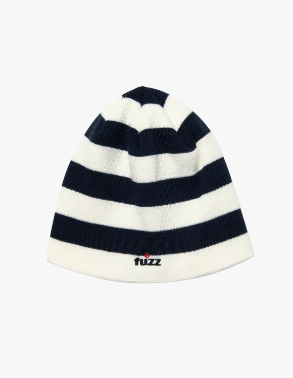 Fuzz FUZZ STRIPE BEANIE white | HEIGHTS. | 하이츠 온라인 스토어