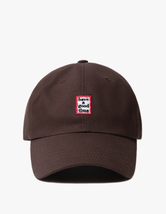 have a good time Frame 6 Panel Cap - Brown | HEIGHTS. | 하이츠 온라인 스토어