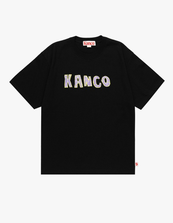 KANCO KANCO TYPO TEE black | HEIGHTS. | 하이츠 온라인 스토어