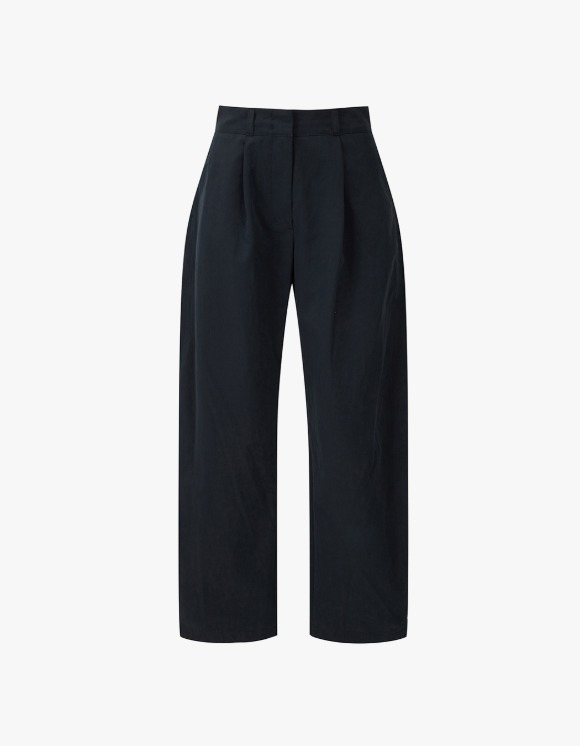 TheOpen Product Cotton Rounding Pants - Navy | HEIGHTS. | 하이츠 온라인 스토어