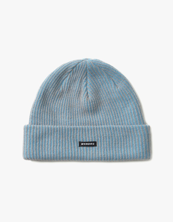 WKNDRS Striped Beanie - S.Blue | HEIGHTS. | 하이츠 온라인 스토어