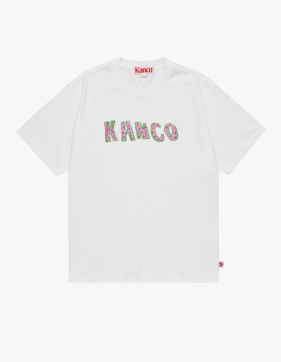 KANCO KANCO TYPO TEE white | HEIGHTS. | 하이츠 온라인 스토어