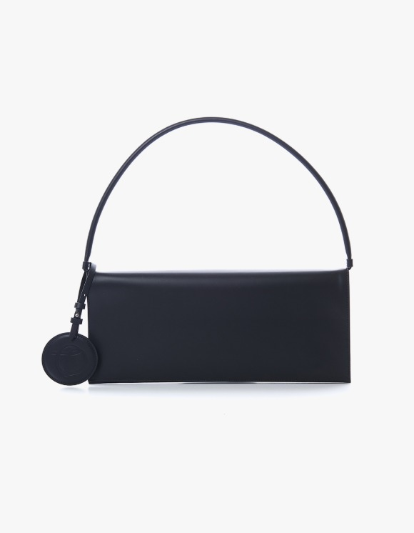 TheOpen Product Flat Leather Shoulder Bag - Black | HEIGHTS. | 하이츠 온라인 스토어