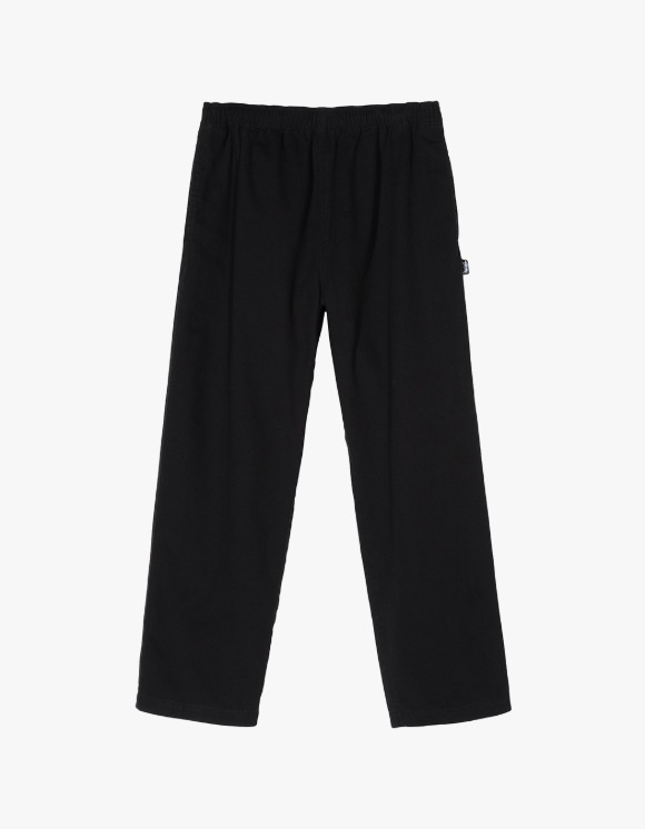 Stussy Brushed Beach Pant - Black | HEIGHTS. | 하이츠 온라인 스토어