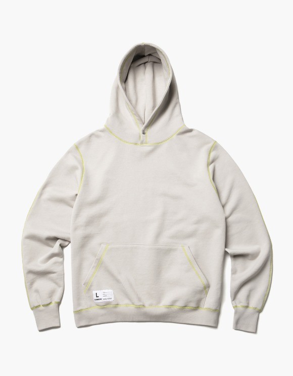 LORES Terry Snap Pullover Hoodie - Heather Gray | HEIGHTS. | 하이츠 온라인 스토어