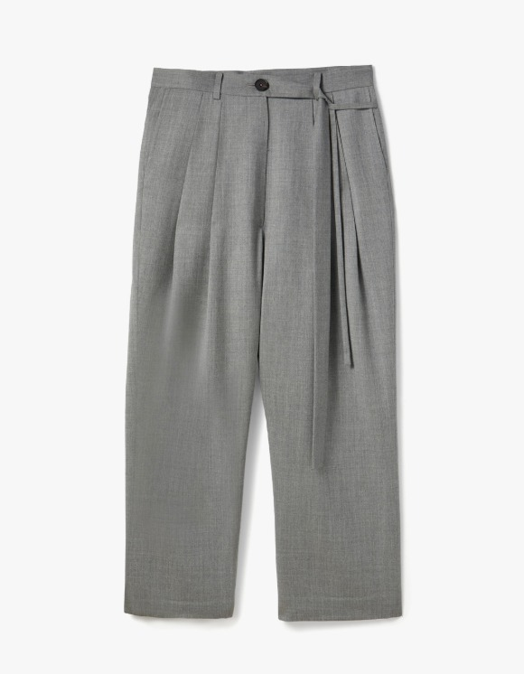 s/e/o Loose Pintuck Pants - Wool | HEIGHTS. | 하이츠 온라인 스토어