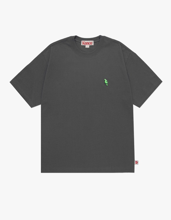 KANCO KANCO FULL LOGO TEE charcoal | HEIGHTS. | 하이츠 온라인 스토어