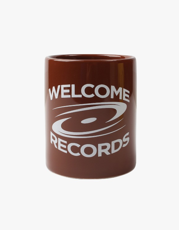 Welcome Records Welcome Mug - Brown | HEIGHTS. | 하이츠 온라인 스토어