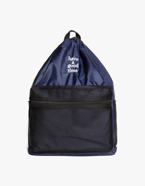 have a good time Logo Day Pack - Navy | HEIGHTS. | 하이츠 온라인 스토어
