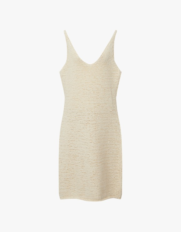TheOpen Product Cotton Knit Sleeveless Dress - Cream | HEIGHTS. | 하이츠 온라인 스토어