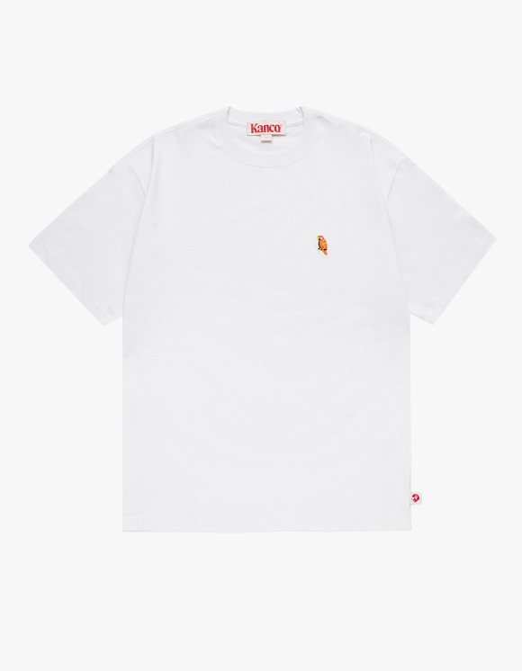 KANCO KANCO FULL LOGO TEE white | HEIGHTS. | 하이츠 온라인 스토어
