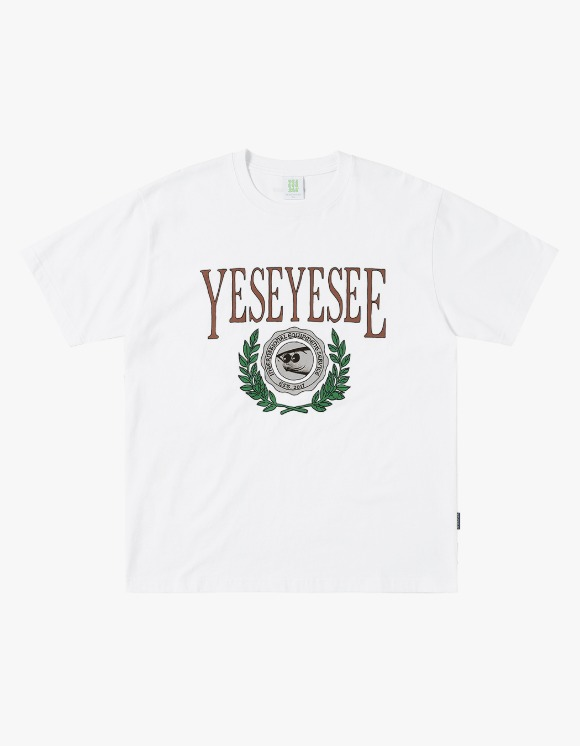 yeseyesee Y.E.S Schooler Tee - White | HEIGHTS. | 하이츠 온라인 스토어