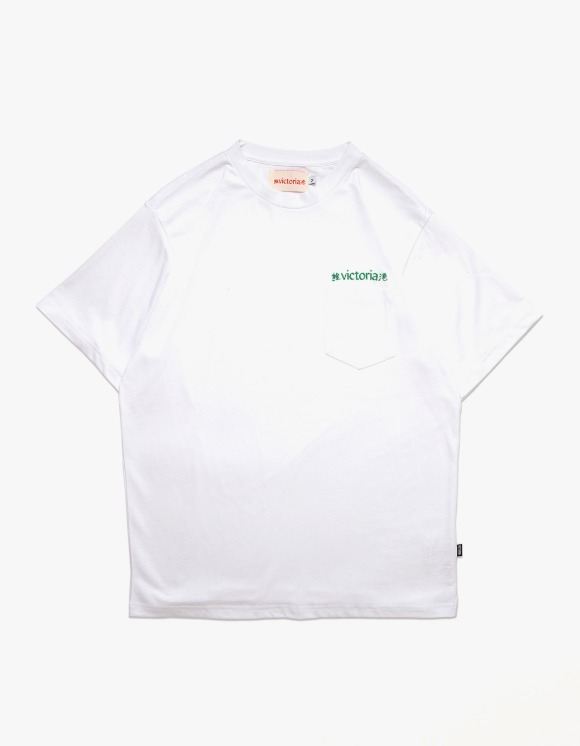 Victoria Hong Kong Linguistic S/S Tee - White | HEIGHTS. | 하이츠 온라인 스토어