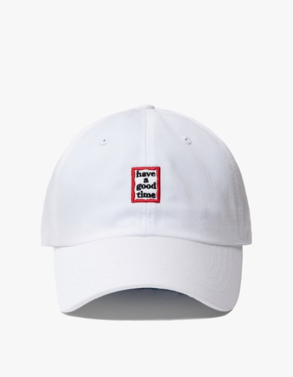 have a good time Frame 6 Panel Cap - White | HEIGHTS. | 하이츠 온라인 스토어