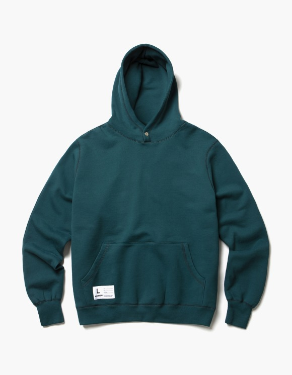 LORES Terry Snap Pullover Hoodie - Forest Green | HEIGHTS. | 하이츠 온라인 스토어