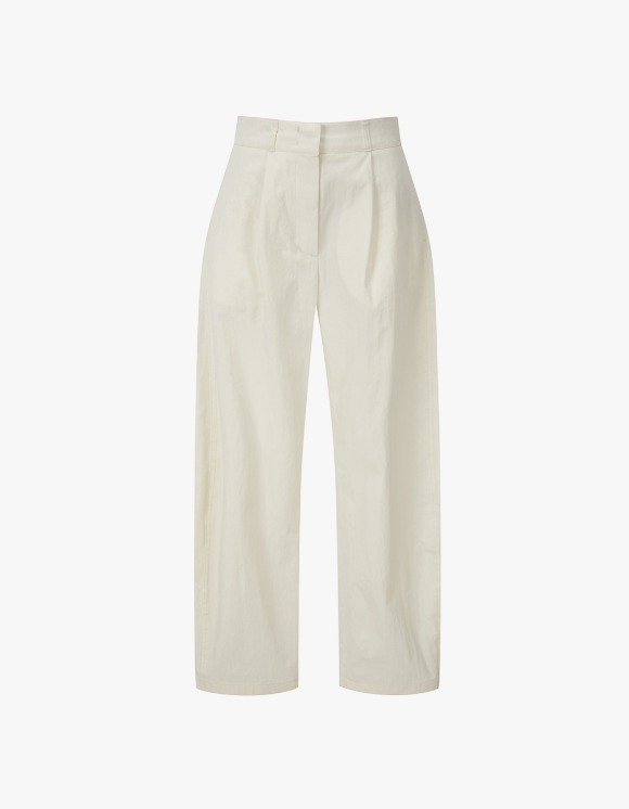TheOpen Product Cotton Rounding Pants - Ivory | HEIGHTS. | 하이츠 온라인 스토어