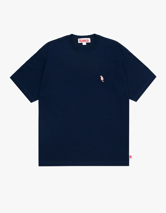 KANCO KANCO FULL LOGO TEE navy | HEIGHTS. | 하이츠 온라인 스토어