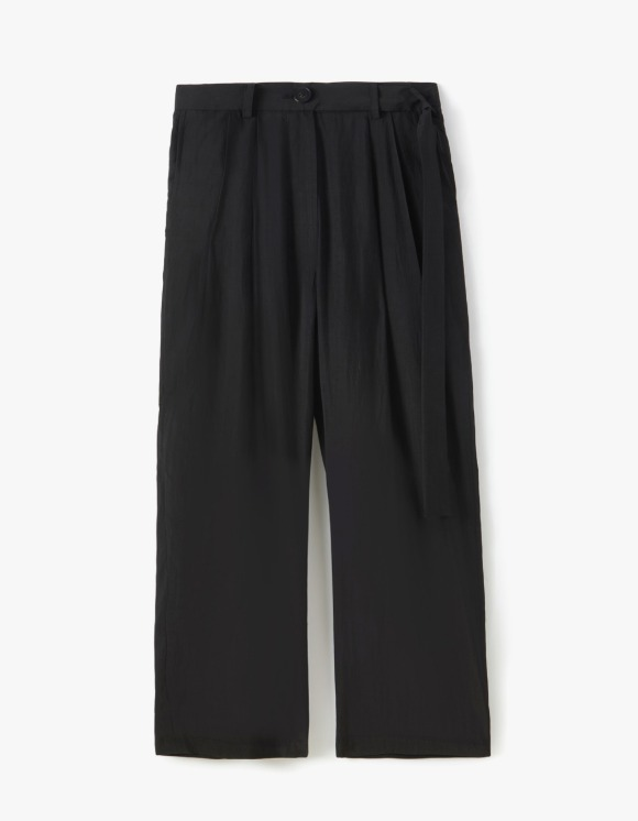 s/e/o Loose Pintuck Pants (Rayon) - Black | HEIGHTS. | 하이츠 온라인 스토어