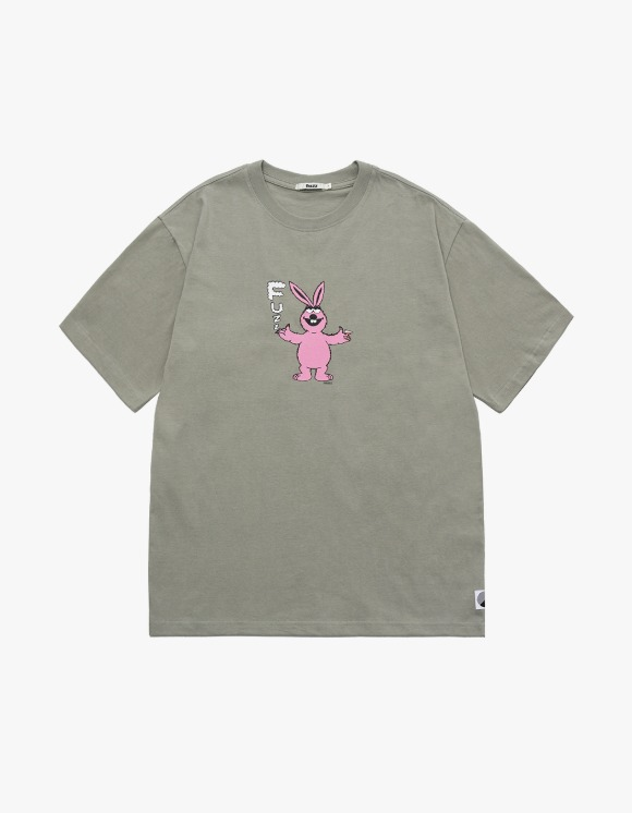 Fuzz FUZZ SLOWKID S/S TEE sand | HEIGHTS. | 하이츠 온라인 스토어