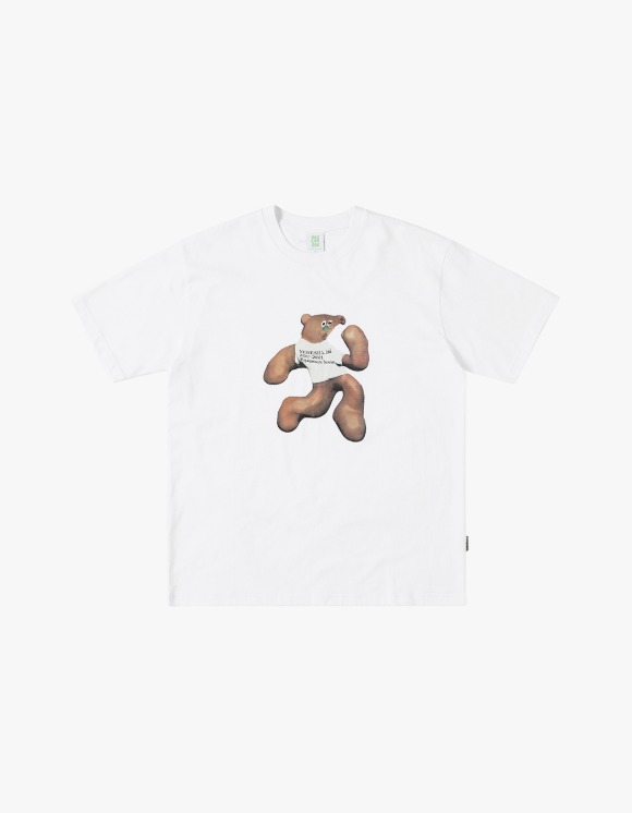 yeseyesee S**t Bear Tee - White | HEIGHTS. | 하이츠 온라인 스토어