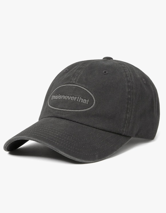 thisisneverthat Overdyed E/T-Logo Cap - Charcoal | HEIGHTS. | 하이츠 온라인 스토어