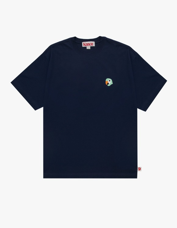 KANCO KANCO SYMBOL TEE navy | HEIGHTS. | 하이츠 온라인 스토어