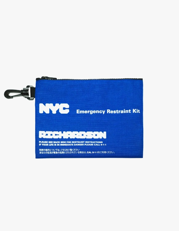 Richardson NYC Restraint Pouch - Cobalt | HEIGHTS. | 하이츠 온라인 스토어