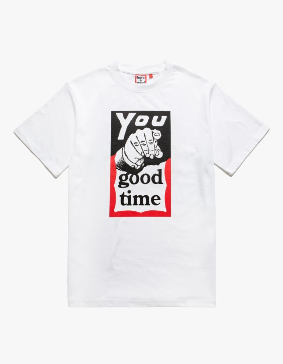 have a good time You Good Time S/S Tee - White | HEIGHTS. | 하이츠 온라인 스토어