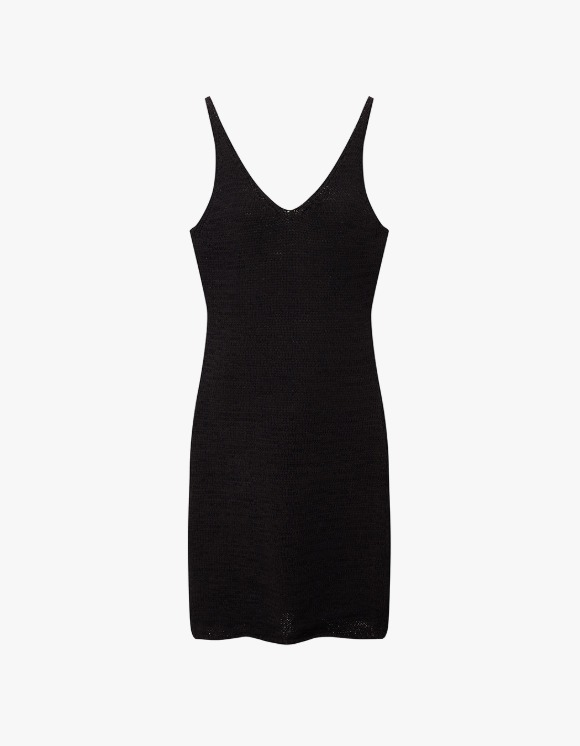 TheOpen Product Cotton Knit Sleeveless Dress - Black | HEIGHTS. | 하이츠 온라인 스토어