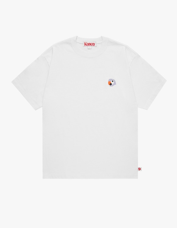 KANCO KANCO SYMBOL TEE white | HEIGHTS. | 하이츠 온라인 스토어