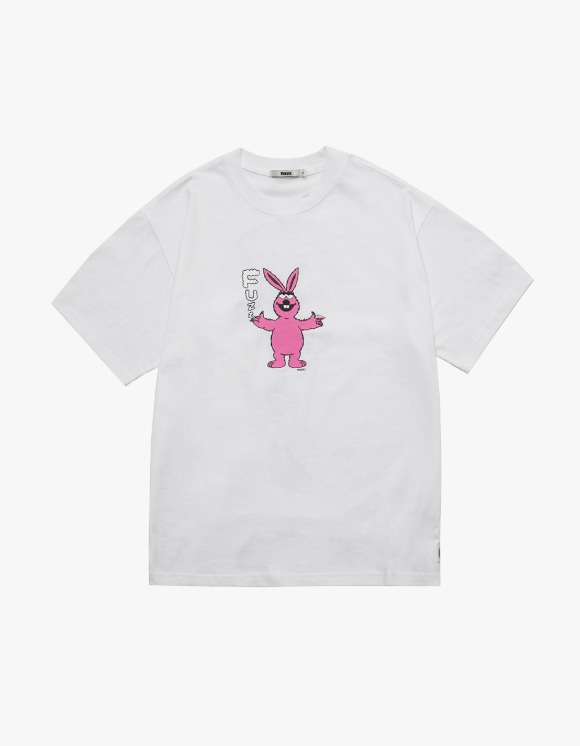 Fuzz FUZZ SLOWKID S/S TEE white | HEIGHTS. | 하이츠 온라인 스토어