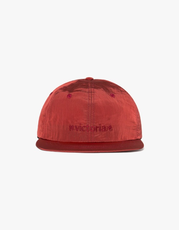 Victoria Hong Kong Metallic Nylon Logo Cap - Red | HEIGHTS. | 하이츠 온라인 스토어