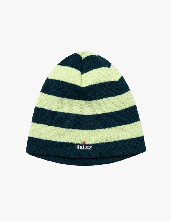 Fuzz FUZZ STRIPE BEANIE green | HEIGHTS. | 하이츠 온라인 스토어