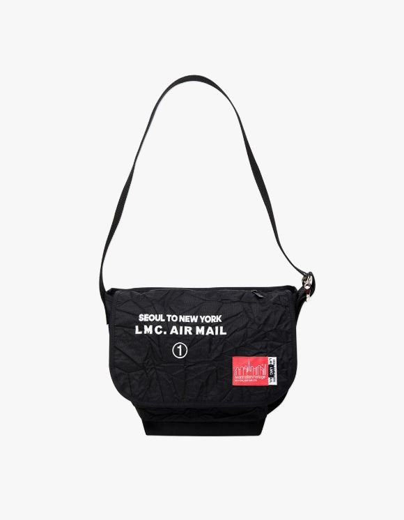 LMC LMC X MANHATTAN PORTAGE VINTAGE MESSENGER BAG (SM) black | HEIGHTS. | 하이츠 온라인 스토어