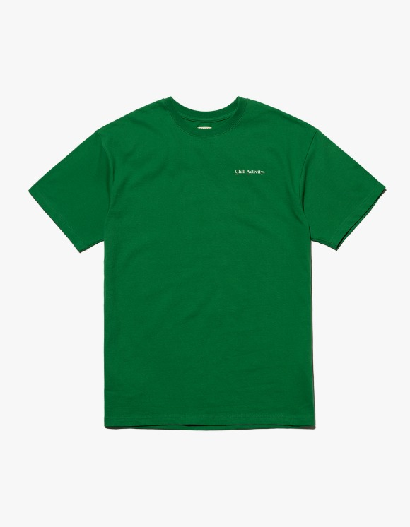 Club Activity Classic Logo Tee - Green | HEIGHTS. | 하이츠 온라인 스토어