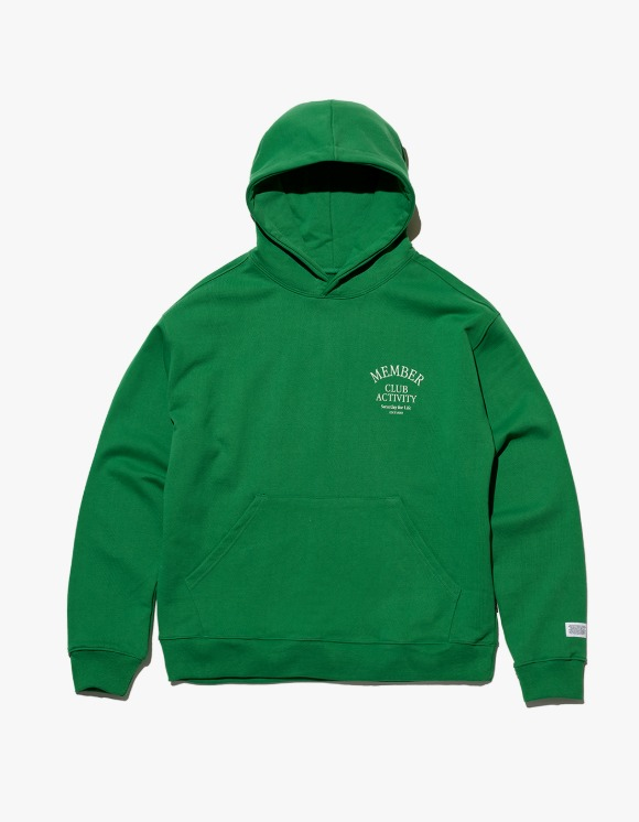Club Activity Member Hoodie - Green | HEIGHTS. | 하이츠 온라인 스토어