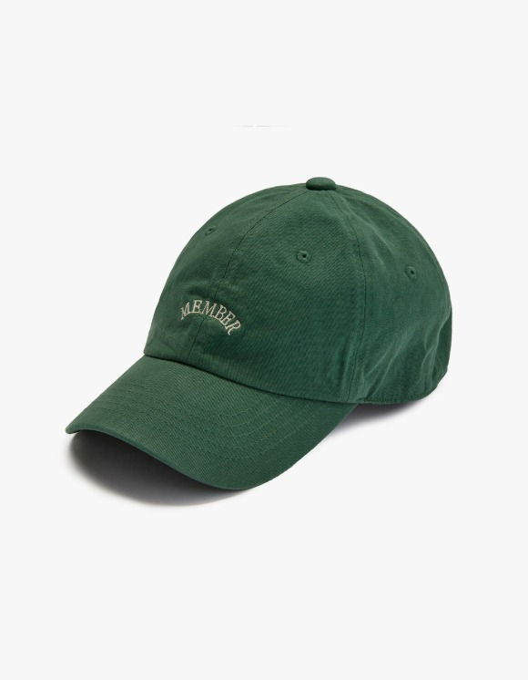 Club Activity Member Cap - Green | HEIGHTS. | 하이츠 온라인 스토어