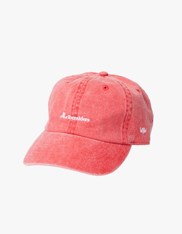Liberaiders Overdyed 6 panel Cap - Red | HEIGHTS. | 하이츠 온라인 스토어