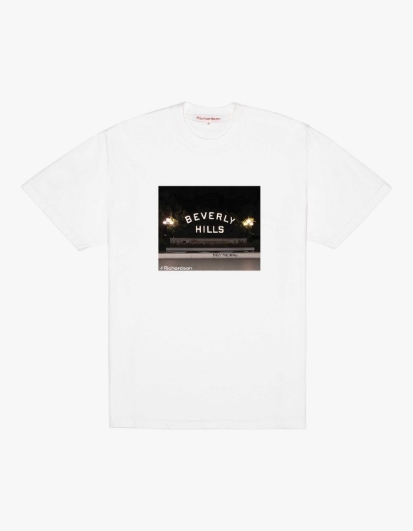 Richardson Beverly Hill S/S Tee - White | HEIGHTS. | 하이츠 온라인 스토어